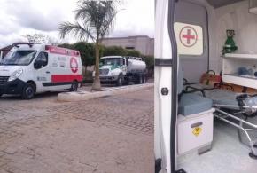 Município de Mato Grosso recebe uma Ambulância do PACTO SOCIAL da Saúde e um Caminhão Pipa do PAC 2