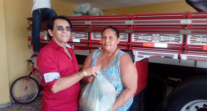 A Prefeitura Municipal de Mato Grosso fez entrega do tradicional Jejum da Semana Santa