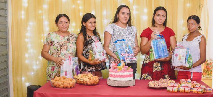 Secretaria de Assistência Social realiza confraternização com o grupo Bem Gestar