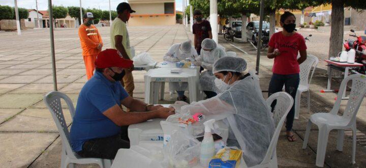 Prefeitura de Mato Grosso realiza testagens de COVID-19 e orienta população sobre prevenção e cuidados