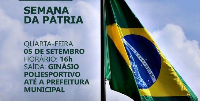 Desfile Cívico em Mato Grosso acontece nesta quarta-feira
